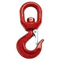 Swivelling Bottom Hook with Safety Lock, 7t
